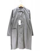 RINEN(リネン)の古着「ステンカラーコート」|グレー