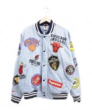 SUPREME×NIKE(シュプリーム × ナイキ)の古着「NBAチームウォームジャケット」|インディゴ