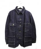 BLUE BLUE(ブルーブルー)の古着「デニムカバーオールジャケット」 インディゴ