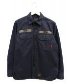 WTAPS(ダブルタップス)の古着「バッズL/Sシャツ」 ブラック