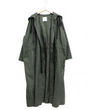 CLANE(クラネ)の古着「オーバーロングモッズコート」|カーキ