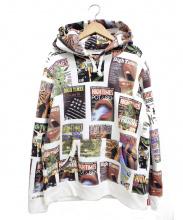 NEIGHBORHOOD×WACKO MARIA(ネイバーフッド×ワコマリア)の古着「ヘビーウェイトプルオーバーフーデッドスウェットシャツ」|ホワイト