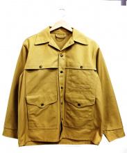 C.C Filson(シーシーフィルソン)の古着「ドライフィニッシュティンクルーザージャケット」|ベージュ