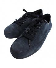foot the coacher×TAKAHIRO MIYASHITA TheSoloist(フットザコーチャー×タカヒロミヤシタ ザソロイスト)の古着「コラボカウスウェードスニーカー」|ブラック