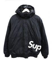 Supreme(シュプリーム)の古着「サイドラインロゴパーカー」|ブラック