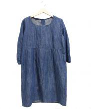 45R(フォーティファイブアール)の古着「製品染めワンピース」 インディゴ