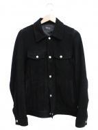 DELAY by Win & Sons(ディレイバイウィンアンドサンズ)の古着「ディアスキン3rdジャケット」
