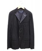 COMME des GARCONS HOMME(コムデギャルソンオム)の古着「3Bストライプテーラードジャケット」
