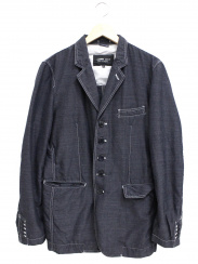 COMME des GARCONS HOMME DEUX(コムデギャルソンオムデュー)の古着「ウールポリ5Bジャケット」