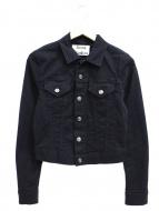 ACNE STUDIOS(アクネ ストゥディオズ)の古着「ブラックデニムジャケット」