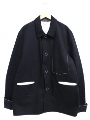 SUNSEA(サンシー)の古着「オーバーインディゴジャケット」