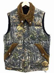TENDERLOIN(テンダーロイン)の古着「ツリー柄ダウンベスト」