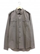 DIOR HOMME(ディオールオム)の古着「エポレットミリタリーシャツ」