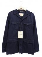 Traditional Weatherwear(トラディショナル ウェザーウェア)の古着「ミリタリージャケット」|ネイビー