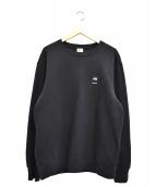 Supreme×THE NORTH FACE(シュプリーム×ザノースフェイス)の古着「マウンテンクルーネックスウェットシャツ」|ブラック