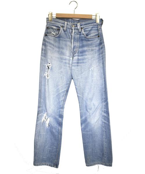 LEVI'S(リーバイス)LEVI'S (リーバイス) [古着]66前期501ヴィンテージ デニム パンツ インディゴ サイズ:下記参照 small E 刻印:6の古着・服飾アイテム
