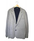 BOSS HUGO BOSS(ボスヒューゴボス)の古着「テーラードジャージージャケット」 グレー