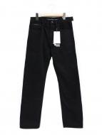 Calvin Klein Jeans(カルバンクラインジーンズ)の古着「サイドラインデニムパンツ」