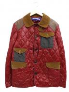 COMME des GARCONS JUNYA WATANABE MAN(コムデギャルソン ジュンヤワタナベ)の古着「キルティングハンティングジャケット」|レッド
