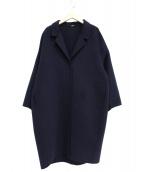 DEUXIEME CLASSE(ドゥーズィエムクラス)の古着「ウールアンゴラリバーコート」