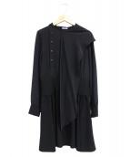 MIU MIU(ミュウミュウ)の古着「リボンシルクドッキングワンピース」