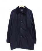 save khaki united(セーブカーキユナイテッド)の古着「フリースライニングトレンチコート」|ネイビー