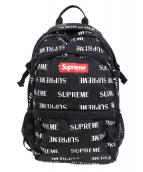 SUPREME(シュプリーム)の古着「3Mリフレクティブリピートバックパック」 ブラック