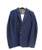 FRANK LEDER(フランクリーダー)の古着「コットン3Bジャケット」|ネイビー