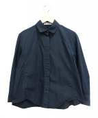 JIL SANDER(ジルサンダー)の古着「コットン比翼シャツ」