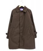 THE NORTH FACE PURPLE LABEL(ザノースフェイス パープルレーベル)の古着「プリマロフト中綿ステンカラーコート」|ブラウン