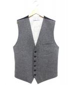 Dior HOMME(ディオールオム)の古着「ウールジレ」