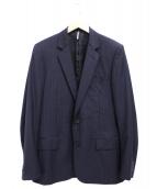 DIOR HOMME(ディオール オム)の古着「ストライプテーラードジャケット」|ネイビー