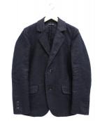 FRANK LEDER(フランクリーダー)の古着「ジャーマンレザー2Bジャケット」|ブラック