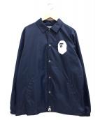 A BATHING APE(ア ベイシング エイプ)の古着「ナイロンロゴコーチジャケット」