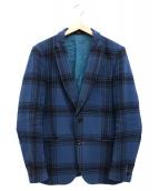 Paul Smith(ポールスミス)の古着「チェックウール2Bジャケット」