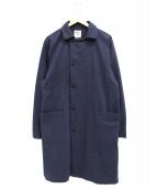 jackman(ジャックマン)の古着「ネップドステンカラーコート」