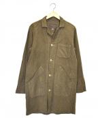 SABRE(セイバー)の古着「モールスキンフレンチワークステンカラーコート」 グレー