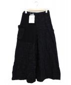 Y's(ワイズ)の古着「パッチワークロングナンバリングスカート」
