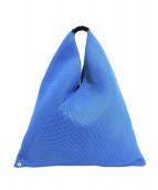 MM6(エムエムシックス)の古着「トライアングルメッシュバッグ」 ブルー