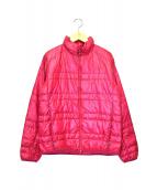 THE NORTH FACE(ザノースフェイス)の古着「ライトヒートジャケット」|ピンク