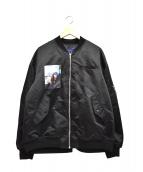 JohnUNDERCOVER(ジョンアンダーカバー)の古着「MA-1ジャケット」|ブラック