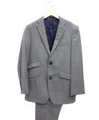 BURBERRY BLACK LABEL(バーバリーブラックレーベル)の古着「2Bセットアップスーツ」|グレー