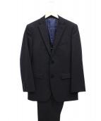 BURBERRY BLACK LABEL(バーバリーブラックレーベル)の古着「2Bセットアップスーツ」|ブラック