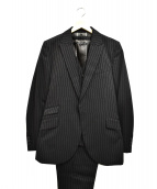 BACK BONE THE BASIS(バックボーンザベイシス)の古着「3ピーススーツ」|ブラック