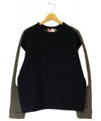 MSGM(エムエスジーエム)の古着「スウェットプルオーバー」|ブラック