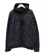 AVIREX(アヴィレックス)の古着「エラスティックジャケット」|ブラック