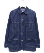 BLUE BLUE(ブルーブルー)の古着「デニムカバーオール」|インディゴ