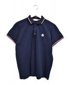 MONCLER(モンクレール)の古着「ワンポイントポロシャツ」|ネイビー
