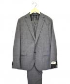 BANANA REPUBLIC(バナナリパブリック)の古着「シアサッカーグレンチェックセットアップスーツ」 グレー