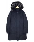 WOOLRICH(ウールリッチ)の古着「ボウブリッジダウンコート」|ネイビー